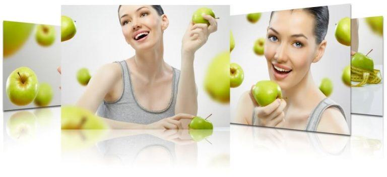 Яблочная диета беременной