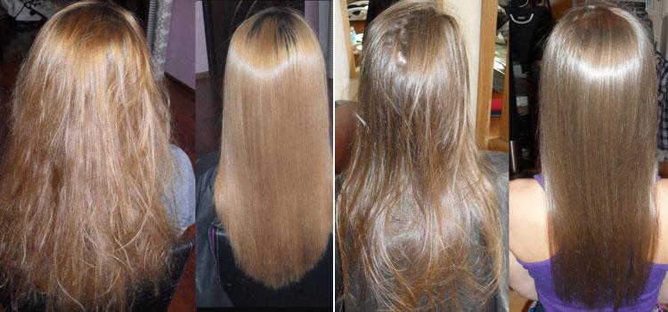 Маска для волос от с желтком и коньяком