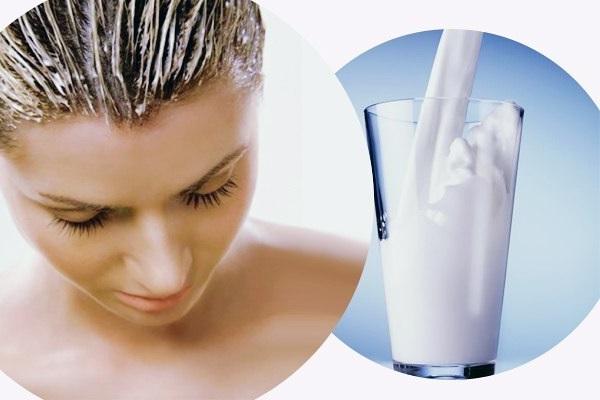 Полезные молочные маски для волос .