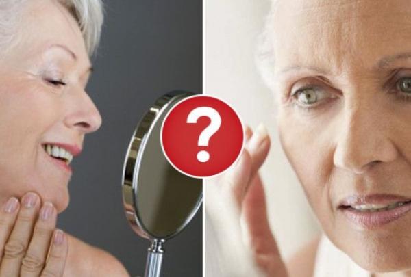 Человеческая кожа: Возрастные изменения кожи у женщин.